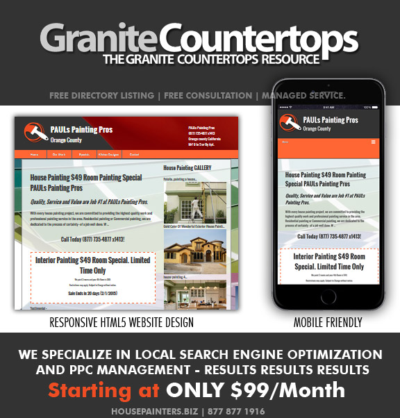 Local Targeted   Granite Countertops Websites